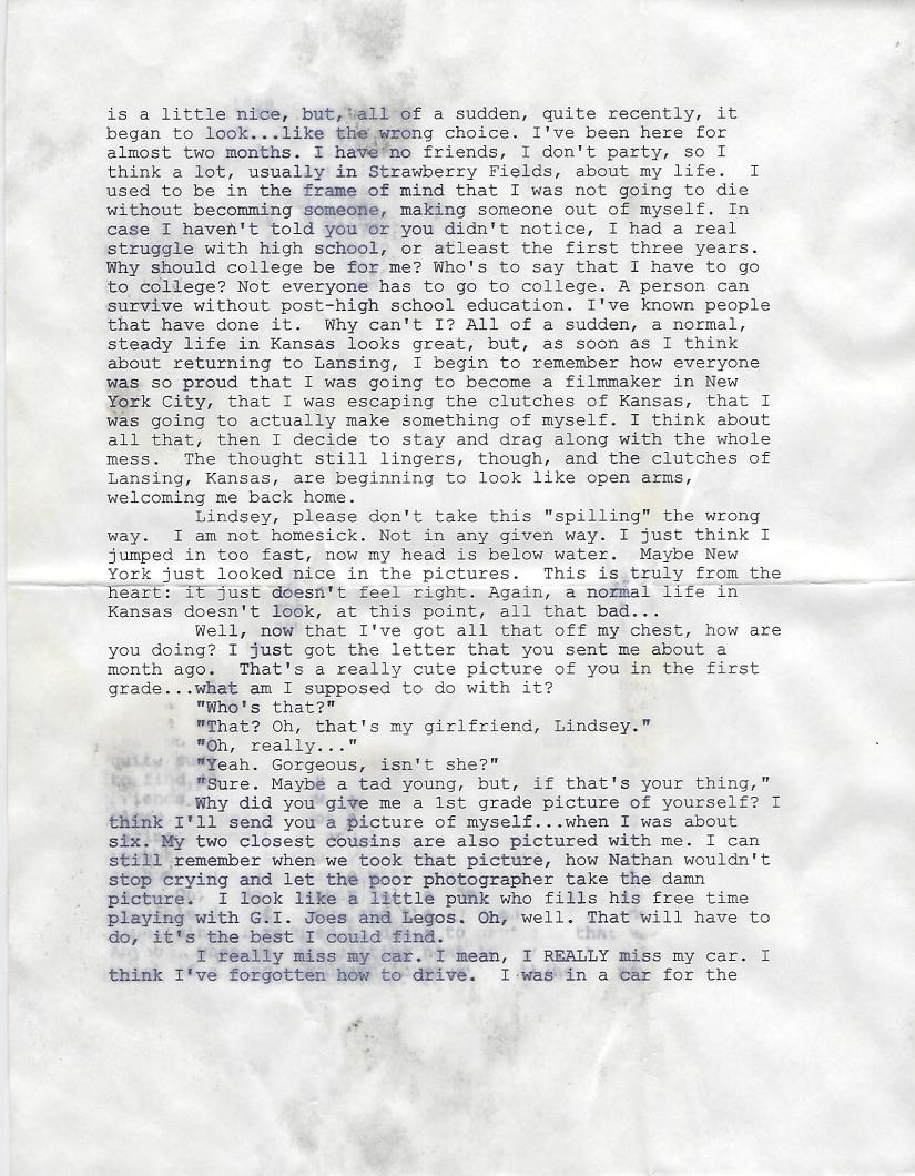 October 1998 Letter 1