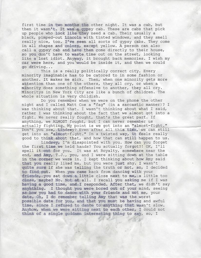 October 1998 Letter 2