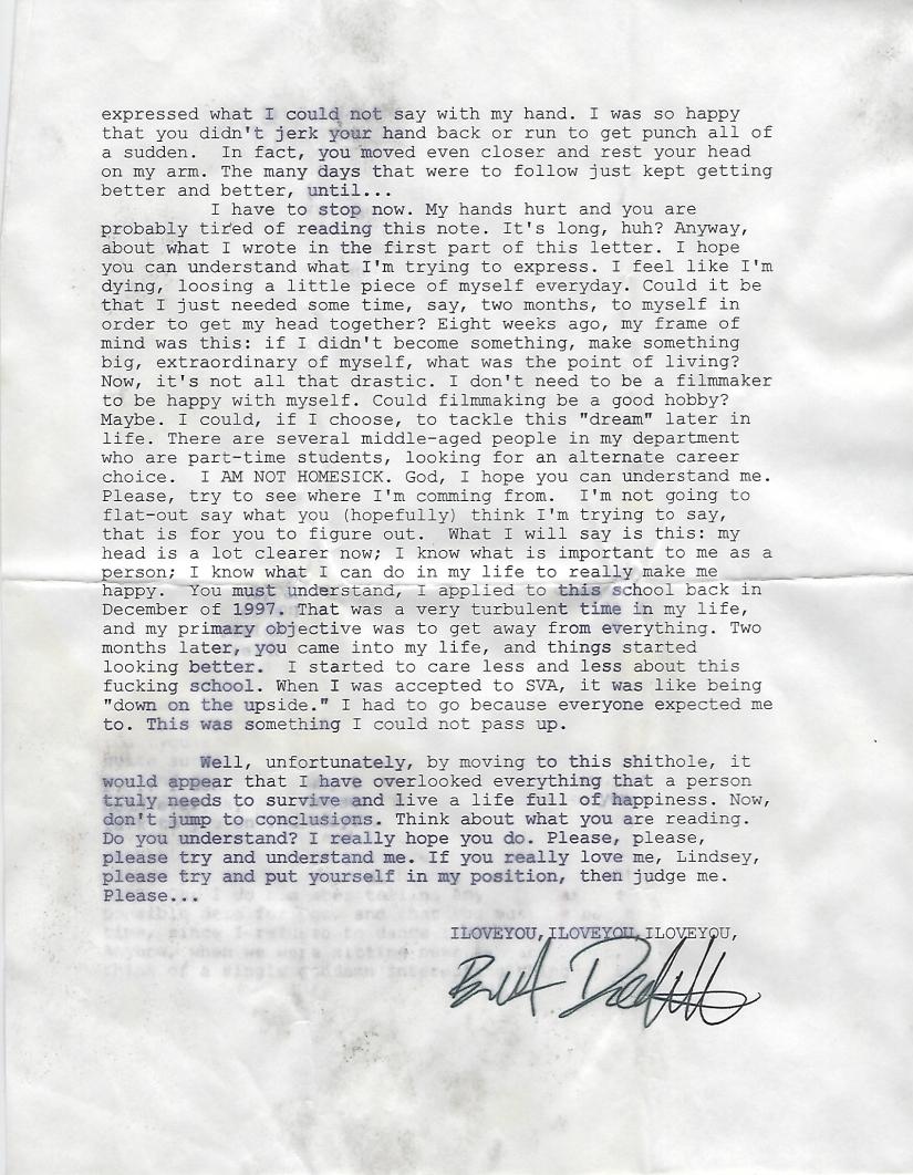 October 1998 Letter 3