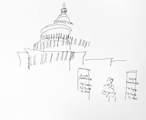 Clark Flatt on Capitol Hill